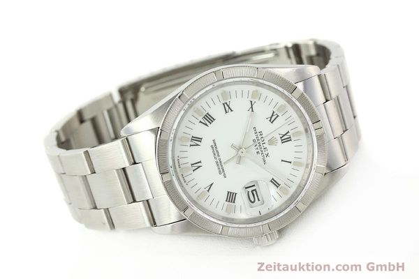 Used luxury watch Rolex Date steel automatic Kal. 3135 Ref. 15210  | 142858 03