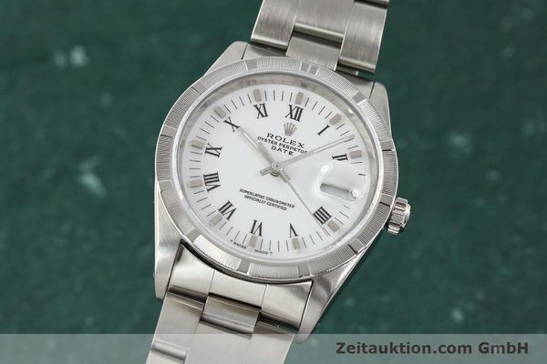 Used luxury watch Rolex Date steel automatic Kal. 3135 Ref. 15210  | 142858 04