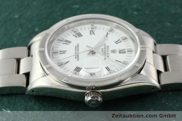 Used luxury watch Rolex Date steel automatic Kal. 3135 Ref. 15210  | 142858 05