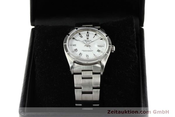 Used luxury watch Rolex Date steel automatic Kal. 3135 Ref. 15210  | 142858 07