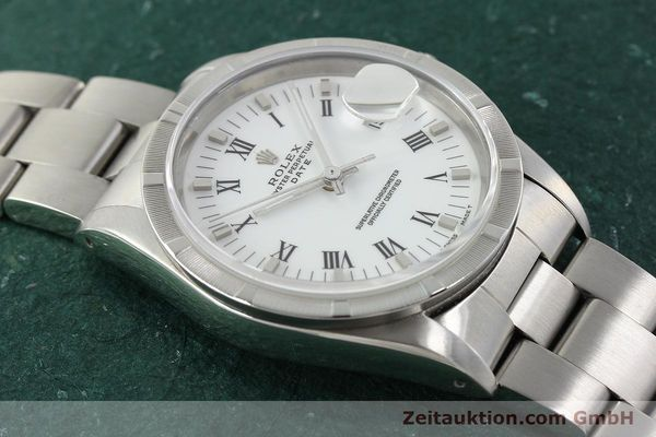 Used luxury watch Rolex Date steel automatic Kal. 3135 Ref. 15210  | 142858 15