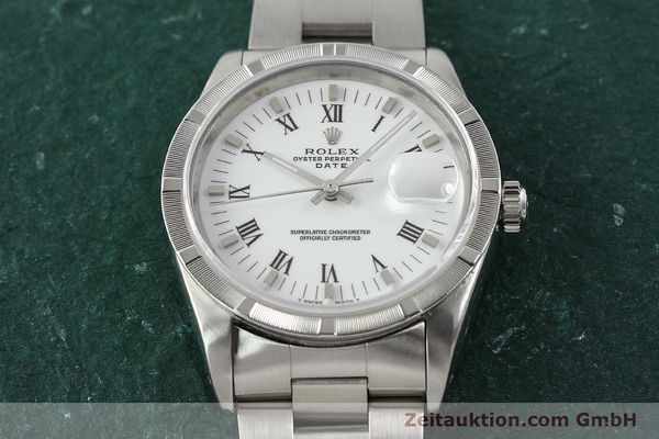 Used luxury watch Rolex Date steel automatic Kal. 3135 Ref. 15210  | 142858 16