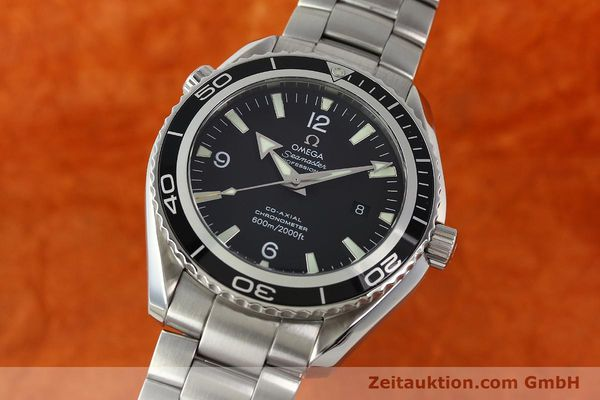 Used luxury watch Omega Seamaster steel automatic Kal. 2500C Ref. 29005091  | 142860 04