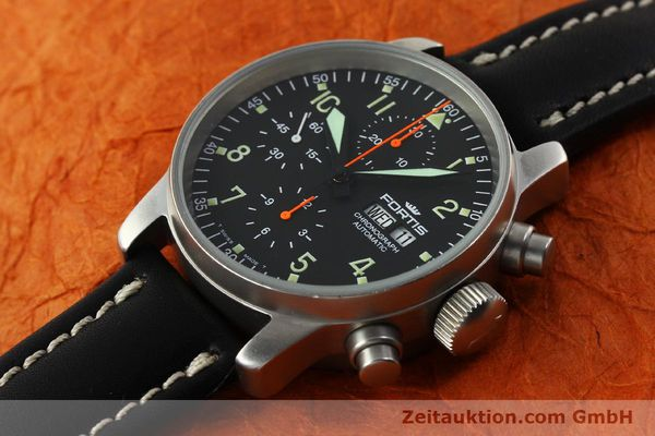 Used luxury watch Fortis Cosmonauts Chronograph chronograph steel automatic Kal. ETA 7750 Ref. 595.10.46  | 142861 01