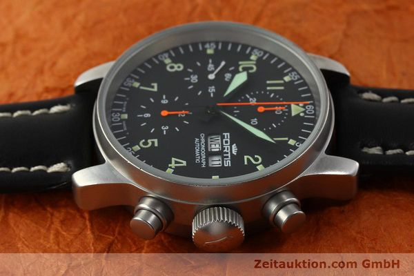 Used luxury watch Fortis Cosmonauts Chronograph chronograph steel automatic Kal. ETA 7750 Ref. 595.10.46  | 142861 05