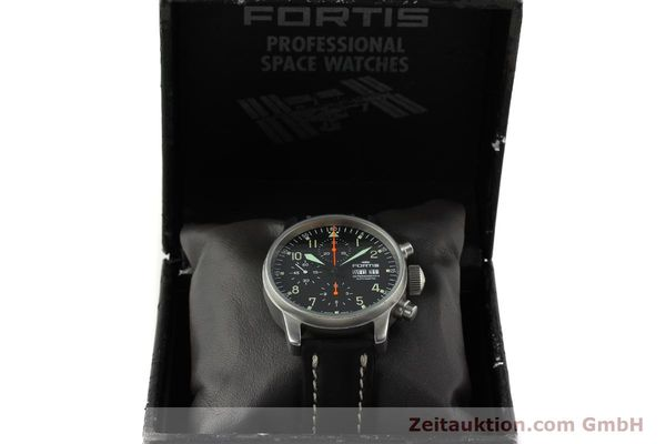 Used luxury watch Fortis Cosmonauts Chronograph chronograph steel automatic Kal. ETA 7750 Ref. 595.10.46  | 142861 07