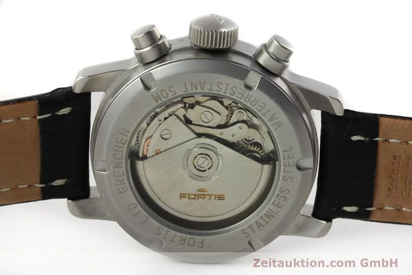 Used luxury watch Fortis Cosmonauts Chronograph chronograph steel automatic Kal. ETA 7750 Ref. 595.10.46  | 142861 09