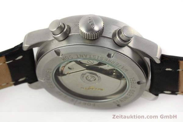 Used luxury watch Fortis Cosmonauts Chronograph chronograph steel automatic Kal. ETA 7750 Ref. 595.10.46  | 142861 11