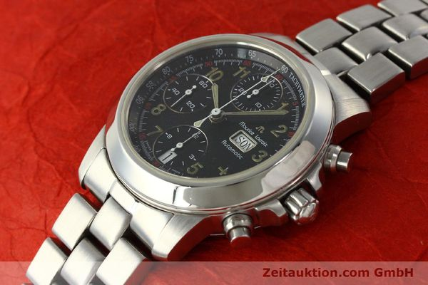 Used luxury watch Maurice Lacroix Croneo chronograph steel automatic Kal. ETA 7750 Ref. 39721  | 142863 01