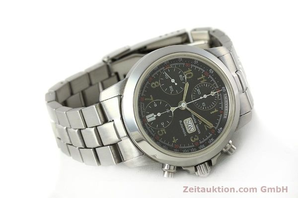 Used luxury watch Maurice Lacroix Croneo chronograph steel automatic Kal. ETA 7750 Ref. 39721  | 142863 03