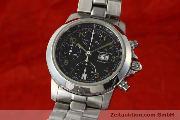 Used luxury watch Maurice Lacroix Croneo chronograph steel automatic Kal. ETA 7750 Ref. 39721  | 142863 04