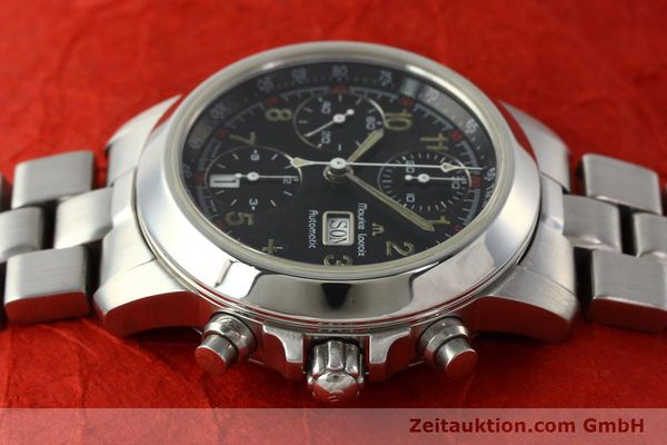 Used luxury watch Maurice Lacroix Croneo chronograph steel automatic Kal. ETA 7750 Ref. 39721  | 142863 05