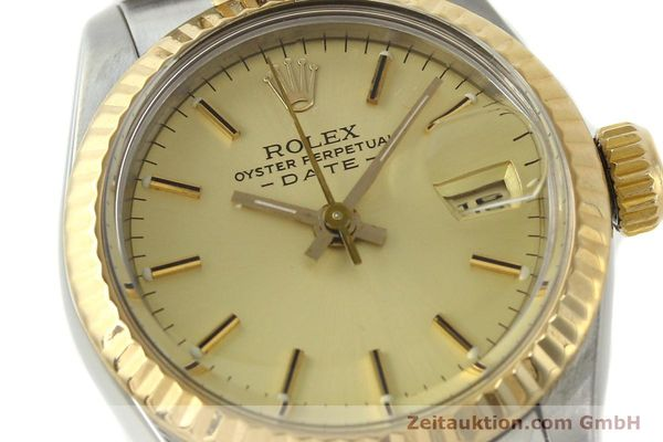 Used luxury watch Rolex Lady Date steel / gold automatic Kal. 2135 Ref. 69173  | 142868 02