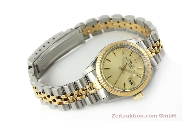 Used luxury watch Rolex Lady Date steel / gold automatic Kal. 2135 Ref. 69173  | 142868 03