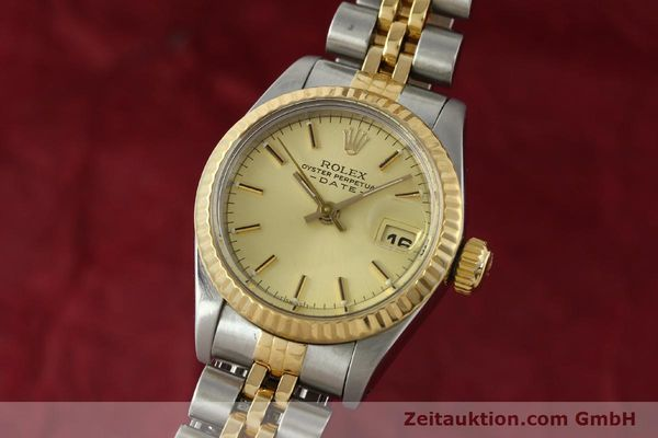 Used luxury watch Rolex Lady Date steel / gold automatic Kal. 2135 Ref. 69173  | 142868 04