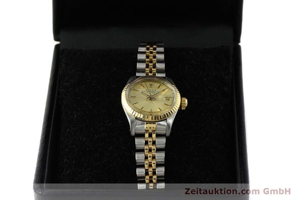 Used luxury watch Rolex Lady Date steel / gold automatic Kal. 2135 Ref. 69173  | 142868 07