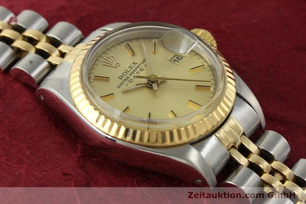 Used luxury watch Rolex Lady Date steel / gold automatic Kal. 2135 Ref. 69173  | 142868 15