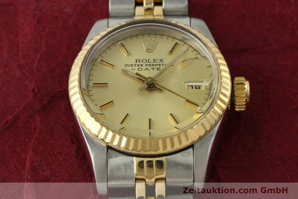 Used luxury watch Rolex Lady Date steel / gold automatic Kal. 2135 Ref. 69173  | 142868 16