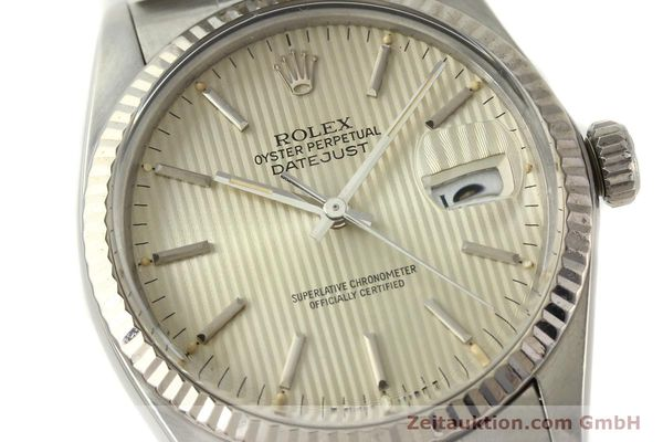 Used luxury watch Rolex Datejust steel / white gold automatic Kal. 3035 Ref. 16014  | 142869 02