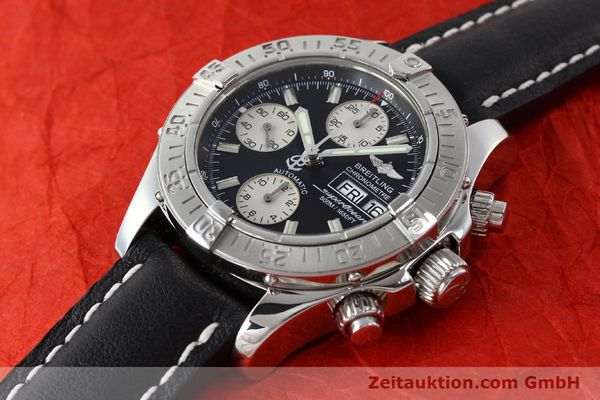 Used luxury watch Breitling Superocean Chronograph chronograph steel automatic Kal. B13 ETA 7750 Ref. A13340  | 142870 01