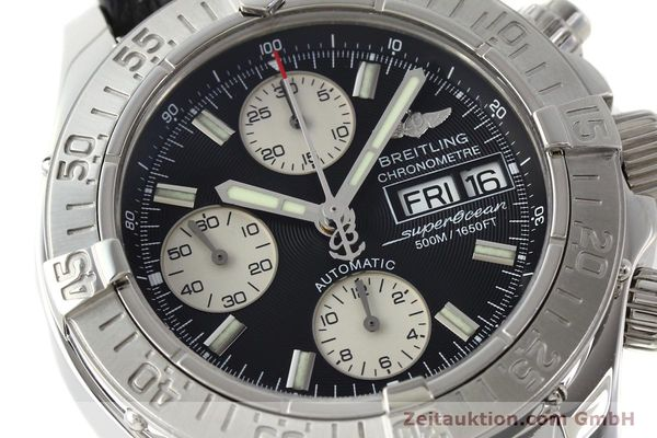 Used luxury watch Breitling Superocean Chronograph chronograph steel automatic Kal. B13 ETA 7750 Ref. A13340  | 142870 02