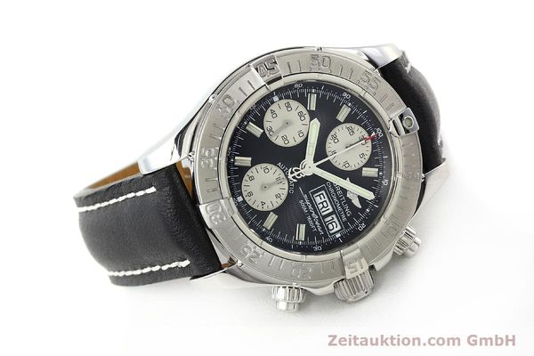 Used luxury watch Breitling Superocean Chronograph chronograph steel automatic Kal. B13 ETA 7750 Ref. A13340  | 142870 03