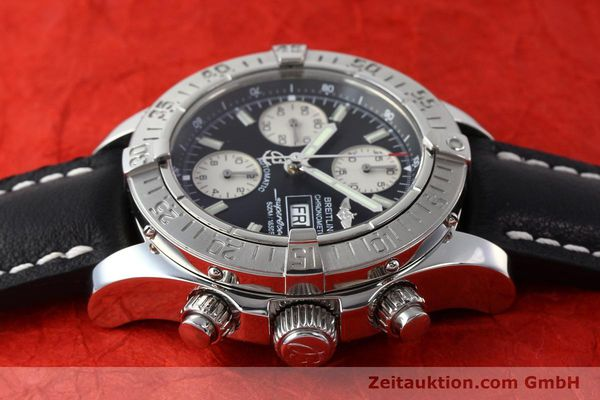 Used luxury watch Breitling Superocean Chronograph chronograph steel automatic Kal. B13 ETA 7750 Ref. A13340  | 142870 05
