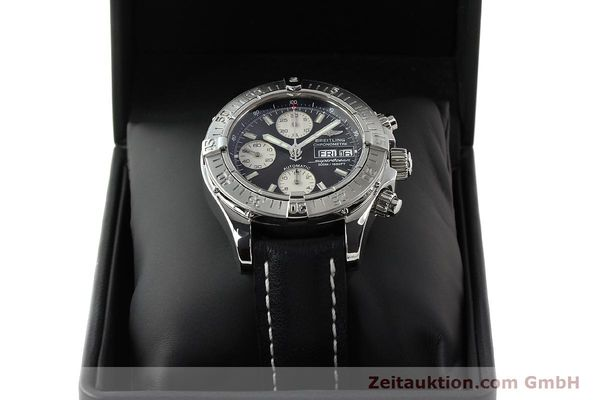 Used luxury watch Breitling Superocean Chronograph chronograph steel automatic Kal. B13 ETA 7750 Ref. A13340  | 142870 07