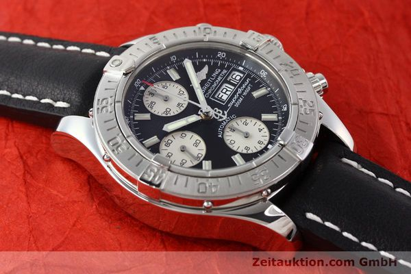 Used luxury watch Breitling Superocean Chronograph chronograph steel automatic Kal. B13 ETA 7750 Ref. A13340  | 142870 14