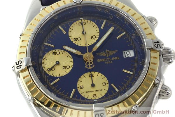 Used luxury watch Breitling Chronomat chronograph steel / gold automatic Kal. B13 ETA 7750 Ref. D13047  | 142872 02