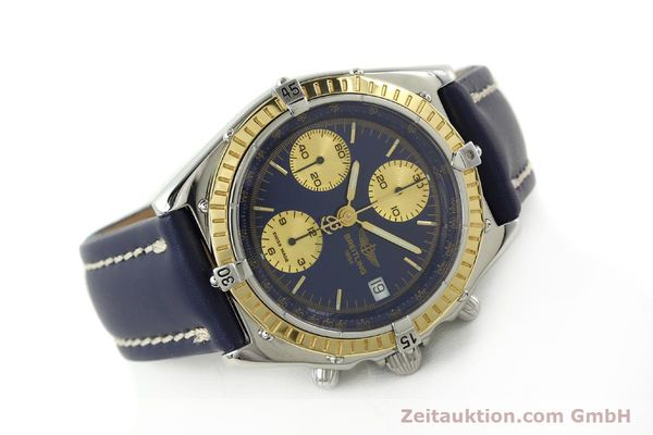 Used luxury watch Breitling Chronomat chronograph steel / gold automatic Kal. B13 ETA 7750 Ref. D13047  | 142872 03