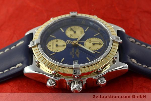 Used luxury watch Breitling Chronomat chronograph steel / gold automatic Kal. B13 ETA 7750 Ref. D13047  | 142872 05