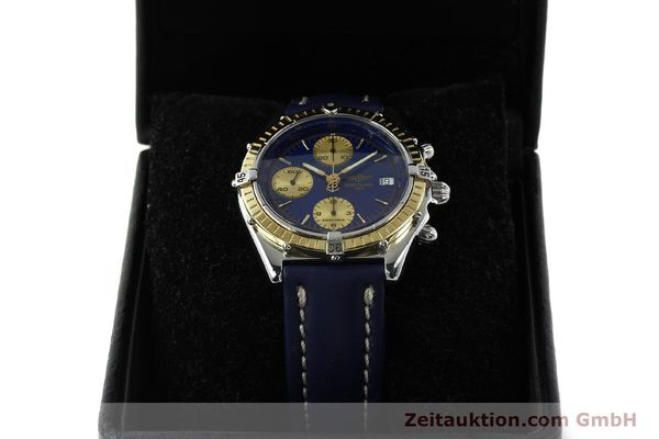 Used luxury watch Breitling Chronomat chronograph steel / gold automatic Kal. B13 ETA 7750 Ref. D13047  | 142872 07