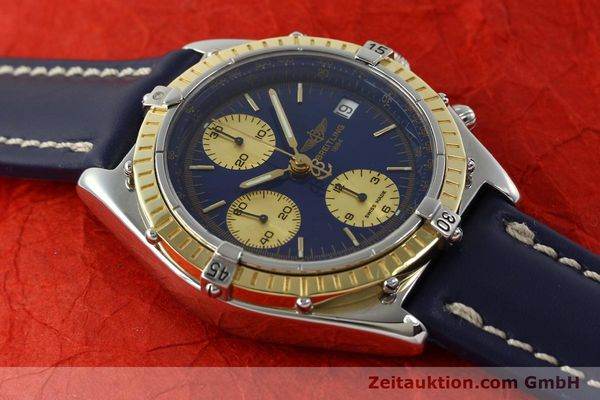 Used luxury watch Breitling Chronomat chronograph steel / gold automatic Kal. B13 ETA 7750 Ref. D13047  | 142872 14
