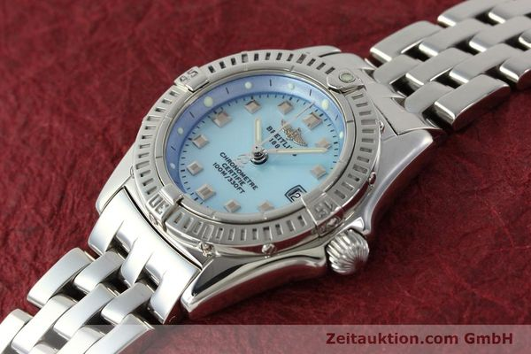 Used luxury watch Breitling Callistino steel quartz Kal. B72 ETA 956152 Ref. A72345  | 142874 01