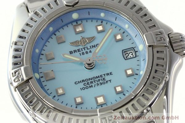 Used luxury watch Breitling Callistino steel quartz Kal. B72 ETA 956152 Ref. A72345  | 142874 02