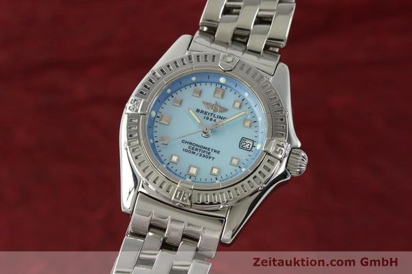 Used luxury watch Breitling Callistino steel quartz Kal. B72 ETA 956152 Ref. A72345  | 142874 04
