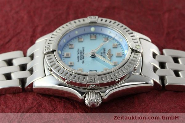 Used luxury watch Breitling Callistino steel quartz Kal. B72 ETA 956152 Ref. A72345  | 142874 05
