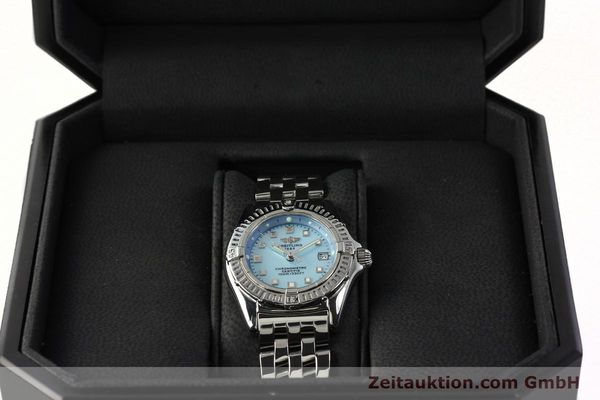 Used luxury watch Breitling Callistino steel quartz Kal. B72 ETA 956152 Ref. A72345  | 142874 07