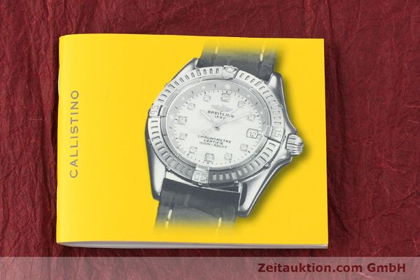 Used luxury watch Breitling Callistino steel quartz Kal. B72 ETA 956152 Ref. A72345  | 142874 12