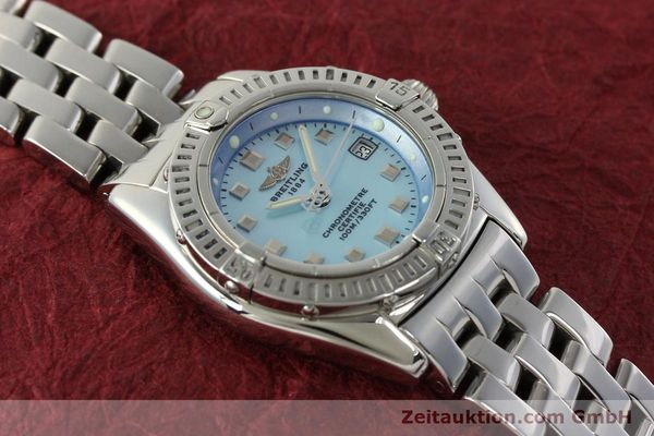Used luxury watch Breitling Callistino steel quartz Kal. B72 ETA 956152 Ref. A72345  | 142874 16