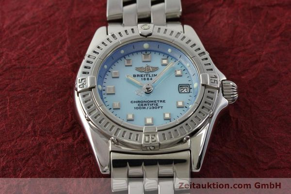Used luxury watch Breitling Callistino steel quartz Kal. B72 ETA 956152 Ref. A72345  | 142874 17