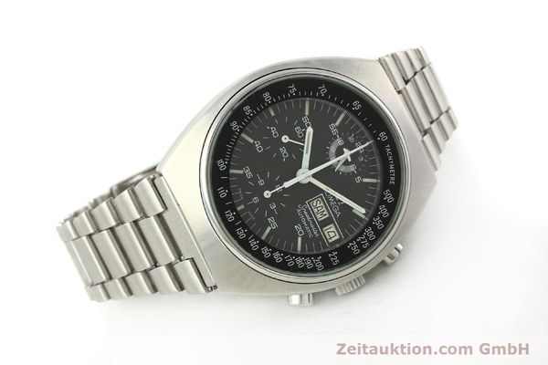 Used luxury watch Omega Speedmaster chronograph steel automatic Kal. 1045  | 142876 03