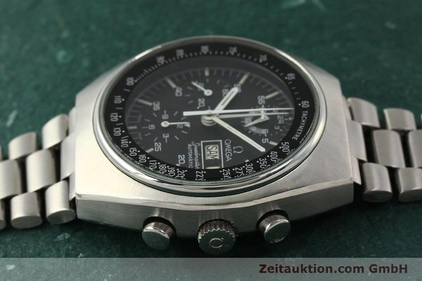 Used luxury watch Omega Speedmaster chronograph steel automatic Kal. 1045  | 142876 05