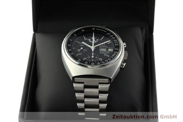 Used luxury watch Omega Speedmaster chronograph steel automatic Kal. 1045  | 142876 07