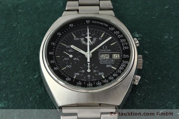 Used luxury watch Omega Speedmaster chronograph steel automatic Kal. 1045  | 142876 15
