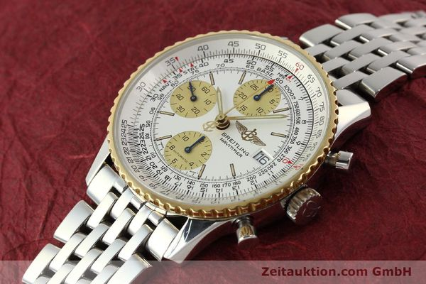 Used luxury watch Breitling Navitimer chronograph steel / gold automatic Kal. B13 ETA 7750 Ref. D13022  | 142880 01