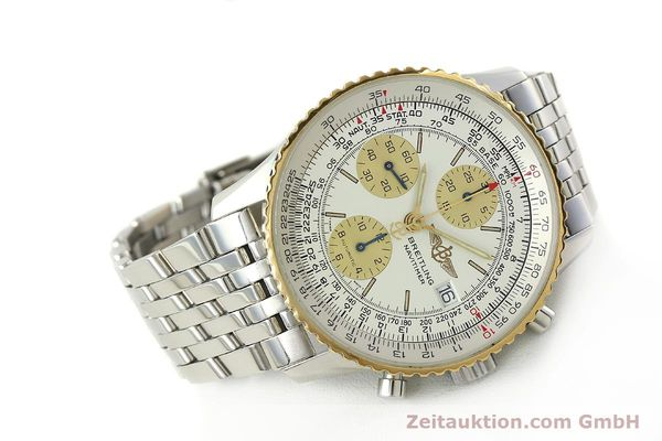 Used luxury watch Breitling Navitimer chronograph steel / gold automatic Kal. B13 ETA 7750 Ref. D13022  | 142880 03