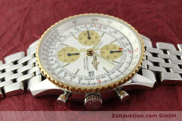 Used luxury watch Breitling Navitimer chronograph steel / gold automatic Kal. B13 ETA 7750 Ref. D13022  | 142880 05
