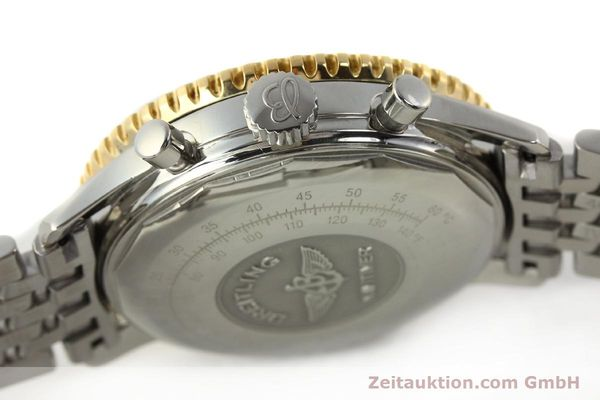 Used luxury watch Breitling Navitimer chronograph steel / gold automatic Kal. B13 ETA 7750 Ref. D13022  | 142880 11